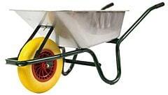 Kruiwagen 80 liter gegalvaniseerd met anti-lek wiel
