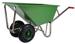 Kruiwagen XXL Poly 160 liter met 2 wielen