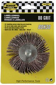 Lamellenwiel / lamellenrad GROOT 80x30 - Korrel 80