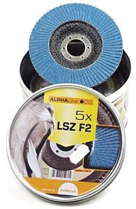 Lamellenschijf LSZ115 / K60 5 stuks in blik (Rhodius)