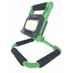 Led werklamp / bouwlamp 20W COB oplaadbaar 4400 mAh