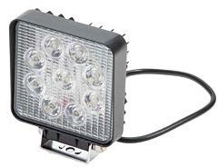 Werklamp 9 LED vierkant 12-24 V