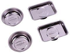 Magneetschotelset / ijzerwaren bakjes 4 delig