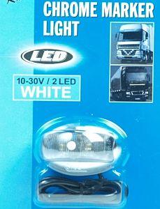 Markeerlicht 2 led 10-30 volt