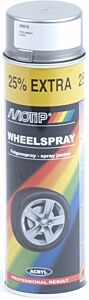 Motip velgenlak Steelwheel  - spuitbus 500ml