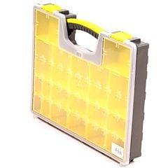 Opbergbox / opbergkoffer / assortimentsdoos 42x33x6mm