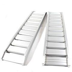 Oprijplaat Aluminium 1800KG / 1.85 meter SET (2 stuks)