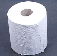 Papierrol / garagepapier wit 21cm / 300 vel (klein)