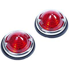 Positielamp 2 delig rood
