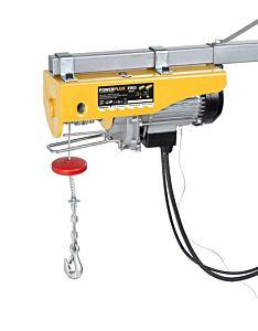 Powerplus takel / hijsinrichting 400/800KG elektrisch