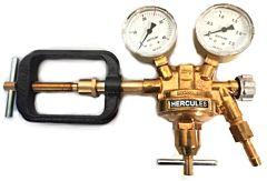 Reduceerventiel t.b.v. acetyleen cilinder