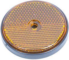 Reflector rond oranje 60mm