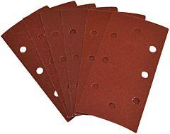 Schuurpapier klittenband 6dlg fijn (t.b.v. vlakschuurmachines)