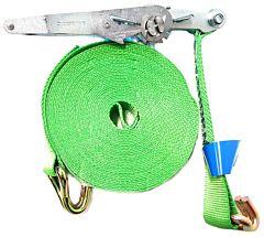 Spanband / Sjorband + ratel en haken (15 MTR-5 TON Prof)