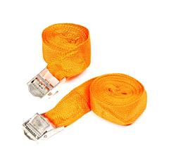 Spanband 2.5 meter oranje 2 delig