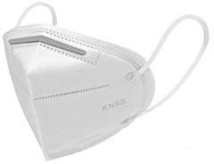 Mondmasker / stofmasker KN95 FFP2 4 laags 10 stuks