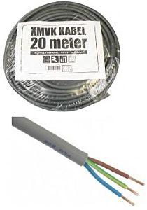 XMVK Stroomkabel rond 3x2.5mm² (20 meter)