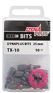 Dynaplus schroefbit TX10 25mm - 10 stuks