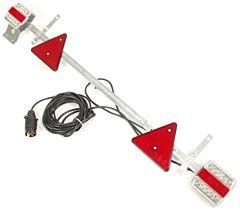 Verlichtingsbalk instelbaar LED (7.5 meter kabel)