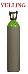 Vulling voor 20 liter gasfles (menggas 85/15)