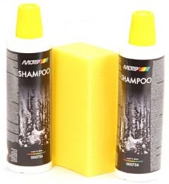 Wash en Shine Shampoo set 2 x 500ml + spons MOTIP