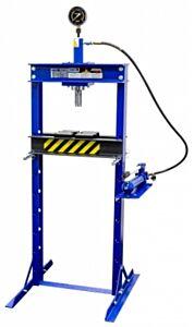 Werkplaatspers / raamwerkpers 12 Ton deluxe incl. manometer