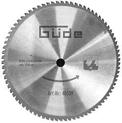 Zaagblad voor metaalcirkelzaag HM 355x25,4x72
