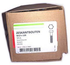 Zeskantbout VZ M12x120 (50 stuks)