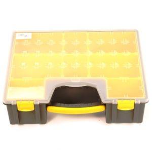Opbergkoffer / opbergbox kunststof (420x334x115 mm)