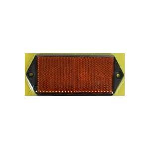 Reflector rechthoek 100x40 oranje