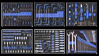 269 delige gereedschapsset / foam inlay voor gereedschapswagens