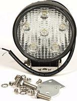 Werklamp / Schijnwerper 6 LEDS, 18 watt 10-30 volt