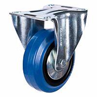 Bokwiel heavy 100mm blauw model