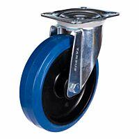 Zwenkwiel heavy 200mm blauw model
