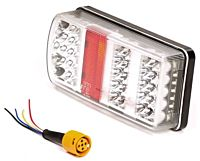 Achterlicht links 43 Led 228x106x55 mm