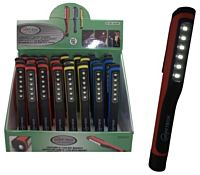Looplamp 6+1 led penmodel met magneet