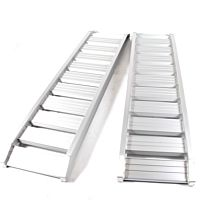 Oprijplaat / rijplaat Aluminium 1800kg/1.85mtr SET 2 stk