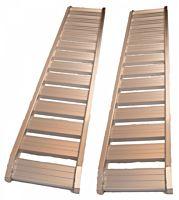 Oprijplaat / rijplaat Aluminium 1800kg/2.47mtr SET 2 stk