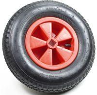 Kruiwagenwiel / skelterwiel met vierkant asgat
