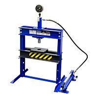 Werkplaatspers / raamwerkpers 12 ton tafel model Prof.