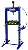 Werkplaatspers / raamwerkpers 20 Ton deluxe incl. manometer