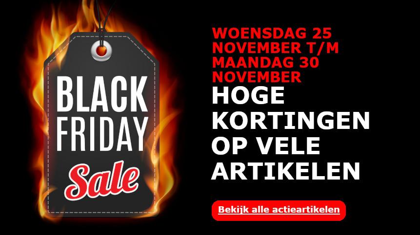 Klik hier voor onze Black friday deals!